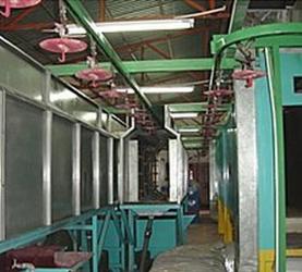 悬挂式生产线